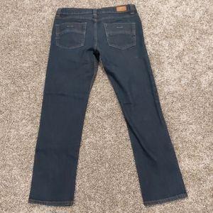 Men's RSQ dark wash slim straight jeans 30x32